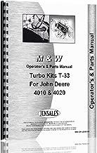 M And W all M&W Turbo Kit for John Deere 4010, 4020 Operators & Parts Manual