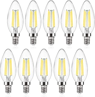 Best led light bulbs candle base Reviews