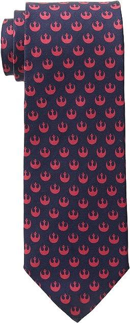 Cufflinks Inc. - Star Wars Rebel Navy and Red Tie