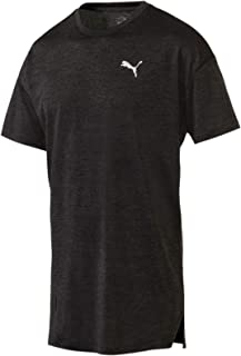 PUMA Men's Energy Ss Tee, Puma Black Heather