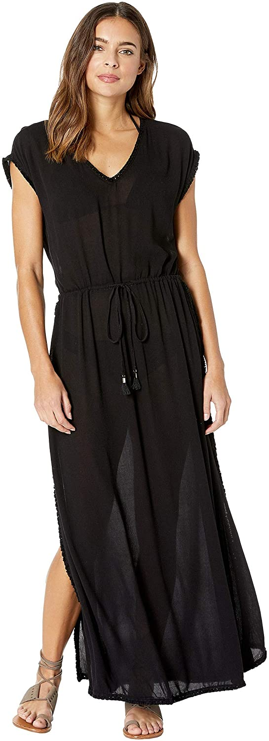 LSpace Womens Noveau Swimsuit Cover Up Dress