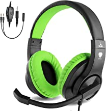 BlueFire 3.5mm Bass Stereo Over-Ear Gaming Headphone PS4 Gaming Headset with Microphone and Volume Control for PS4/New Xbo...