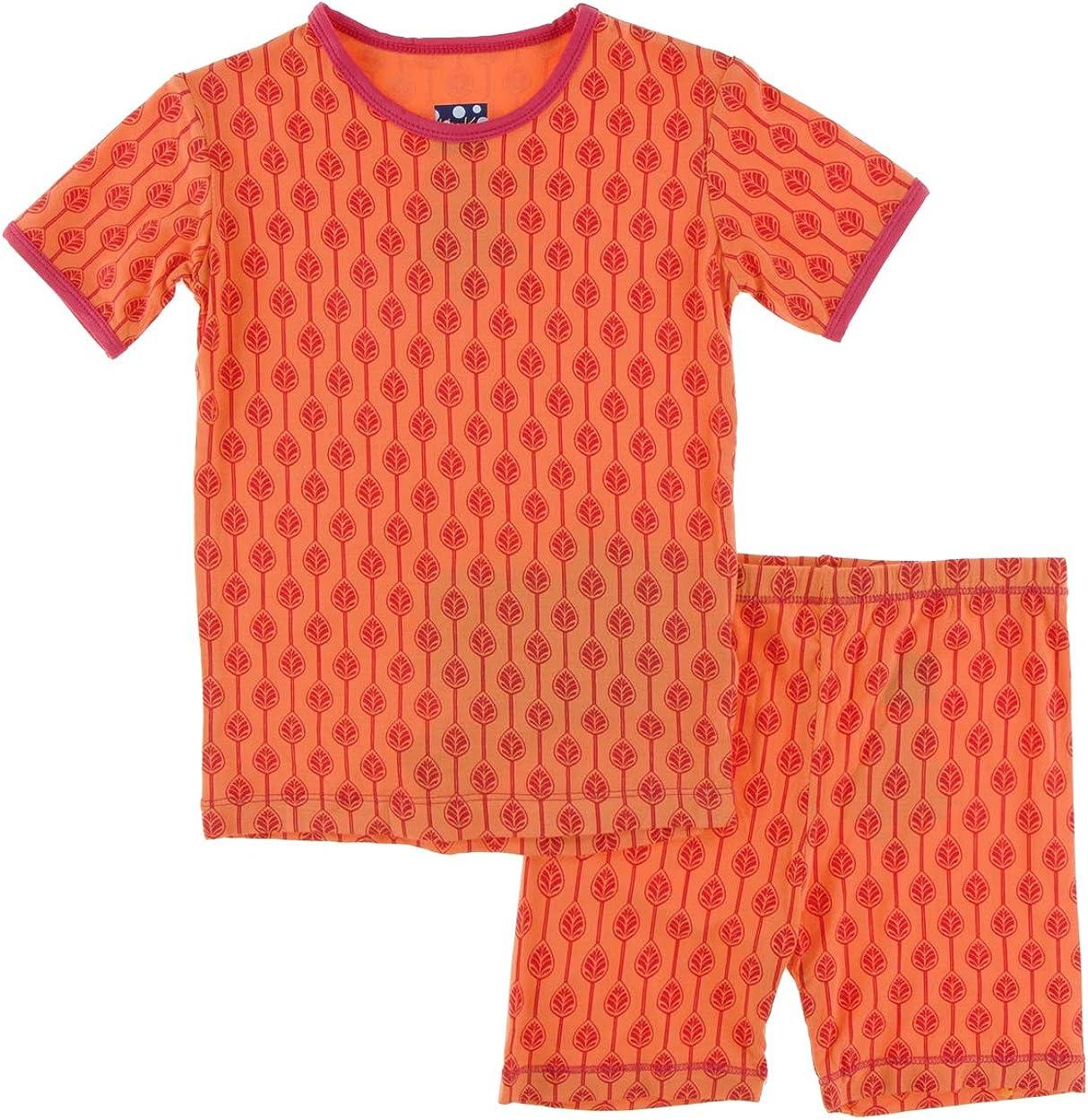KicKee Pants Print Short Sleeve with Excellent Shorts Pajama Set Max 52% OFF