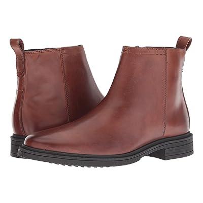 Cole Haan Bernard Zip Boot (Woodbury/Black) Men