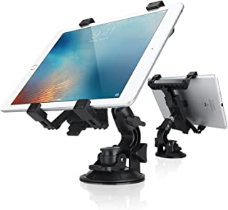 Dealgadgets Tablet Car Mount Holder Universal Mounts for Samsung Galaxy Tab S3 S2 4 3/Huawei M2 M3/iPad Mini/iPad Air 2/iPad Air/iPad 4/iPad 3/ iPad 2(Revised Version - Use with All 7-10 inch Tablets