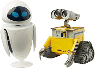 Pixar WALL•E and Eve Figures True to Movie Scale Character Action Dolls Highly Posable with Authentic Storytelling, Collec...