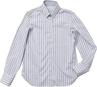 [フィナモレ] GIULIA/ZOE 044343 コットン マルチストライプシャツ