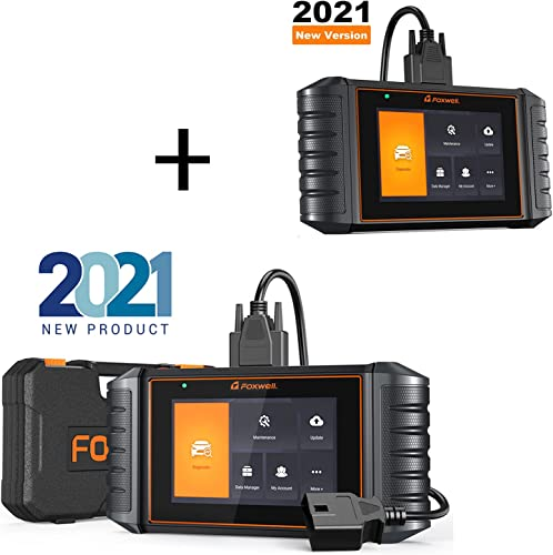 discount (2021 New-Tech) lowest FOXWELL NT726 OBD2 Scanner Car Code Reader for All Car,All Systems Car Diagnostic Scanner,8 Reset Service wholesale with NT716 Code Reader online sale