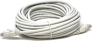 Mr. Tronic 10 Metros Cable de Red Ethernet Latiguillo 10m | CAT6, AWG24, CCA, UTP, RJ45 | Color Gris