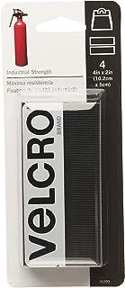 VELCRO Brand Heavy Duty Fasteners | 4x2 Inch Strips 4...