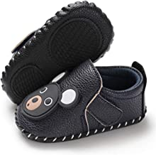 BENHERO Infant Baby Boys Girls Shoes Soft Sole Cartoon Slipper Soft Sole Moccasins Toddler First Walker House Walking Crib Shoes
