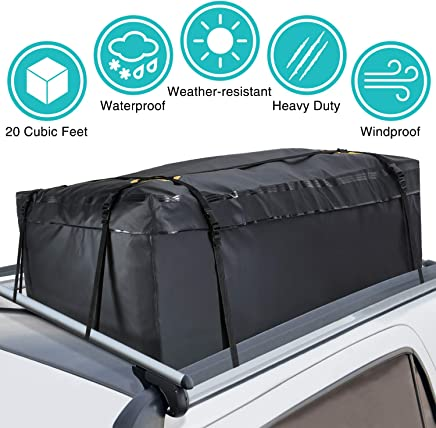 Modokit 100% Waterproof Car Cargo Roof Bag Roof Top Cargo Bag for Vehicles  with Rack 53721f2fcb208