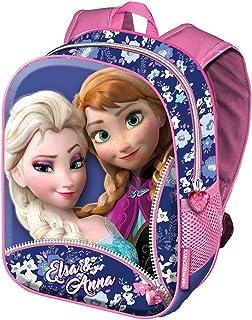 Frozen Zipper Mochilas Infantiles, 39 cm, Rosa