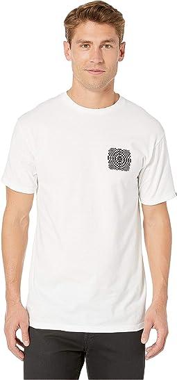 Warped Check Short Sleeve T-Shirt