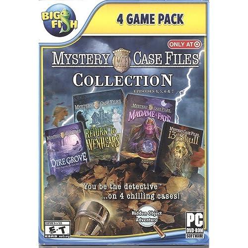 Mystery Case Files PC Games: Amazon com