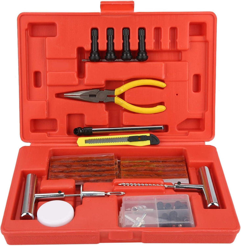 Tire Repair Kit, Tyre Repair Set, 73Pcs Tire Repair Kit Tyre Rep