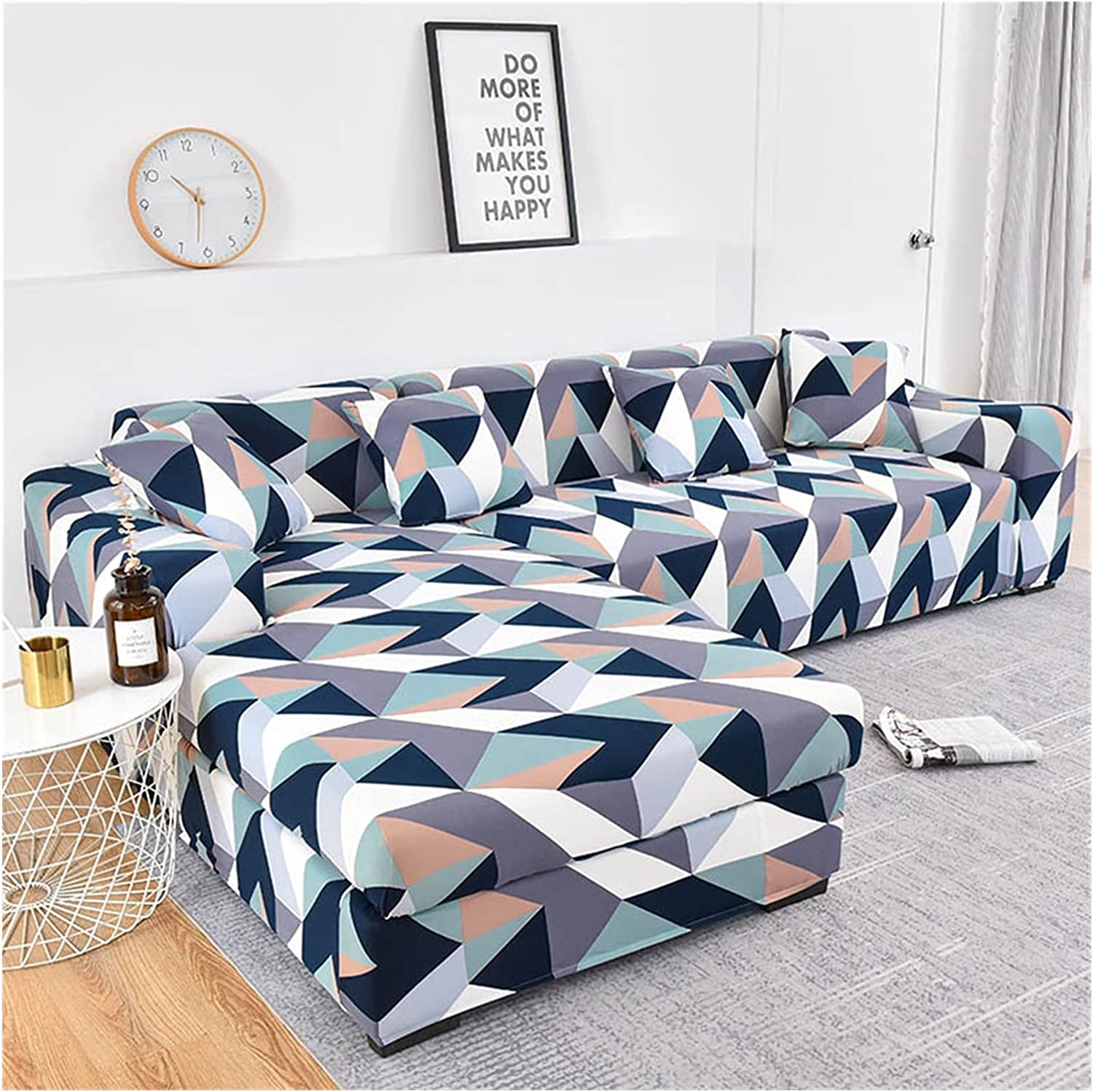 Sofa latest Cover Geometric Couch Max 70% OFF Elastic for R Living