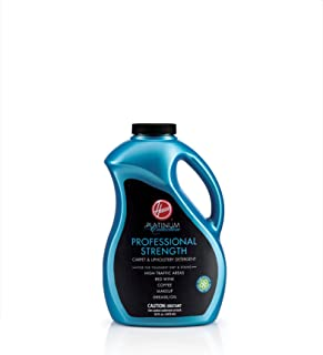 Hoover AH30525 Carpet Cleaner and Upholstery Detergent Solution, Platinum Collection Professional Strength Formula, 50 oz