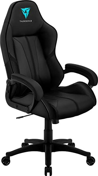 ThunderX3 BC1 Office Gaming Chair AIR Tech Ergonomic Design Premium Leatherette Black
