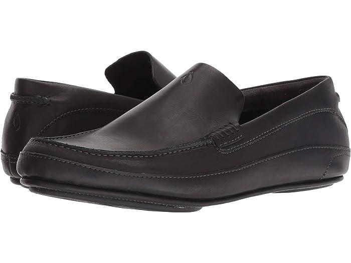 Men's OluKai Kulana Slip-On in Black