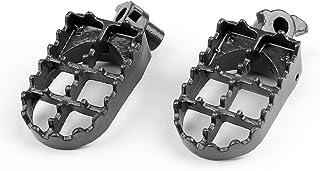 Gris acier Pied Repose-pieds Piquets pour 1988-1994 Cr125 Cr250 CR500 CR 125 250 500