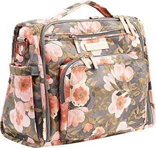 JuJuBe BFF Diaper Backpack, Multi-Functional Convertible + Messenger Bag | Travel-Friendly, Whimsical Whisper