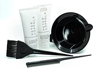Peter Coppola Keratin Hair Treatment Kit - At Home Keratin Treatment - Straightens and Smooths All Hair Types - Includes T...