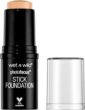 wet n wild Photo Focus Stick Foundation, Shell Ivory, 0.42 Ounce