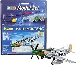 Revell Revell64148 P-51d Mustang Model Set (34-piece)