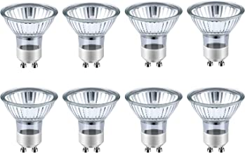 8 Stuks GU10 Spotlampen, Dimbare Halogeenlampen 35W, Warm Wit 2700K, 350lm