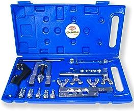 Abocinador expansor cortador de tubo con estuche. Kit de herramientas de fontaner/ía de Abocardador exc/éntrico de tubos aire acondicionado y calefacci/ón