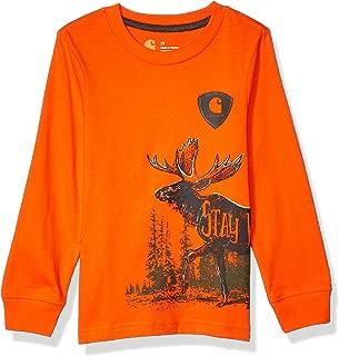 Boys' Long Sleeve Graphic Tee T-Shirt