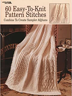 60 Easy-To-Knit Pattern Stitches  (Leisure Arts #932)