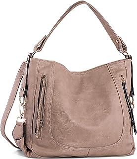 حقائب يد للنساء، UTAKE حقائب كتف نسائية من الجلد الصناعي حقائب يد بحمالة من الأعلى مقبض محفظة للسيدات