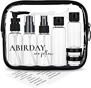 Travel Bottles Containers & Travel Size Toiletries Accessories Bottles with Toiletry Bag for Liquids Leak-Proof & TSA Appr...