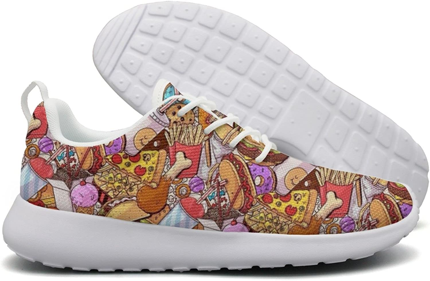 Delicious Feast Women's New Running shoes Funny Mini
