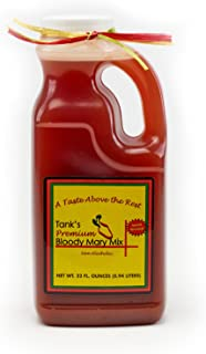 Tank's Premium Bloody Mary Mix - Award Winning Old Family Recipe, 32oz Bottle