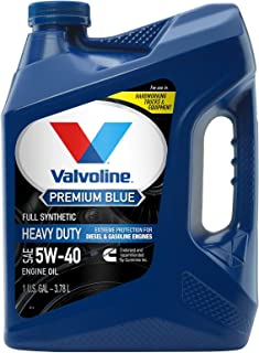 Best Valvoline Premium Blue Extreme SAE 5W-40 Full Synthetic Diesel Engine Oil 1 GA Review