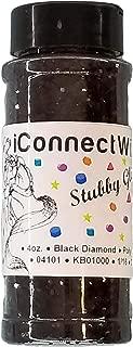 Black Diamond, Stubby Glitter 1/16, 4oz Shaker Bottle, Poly Glitter