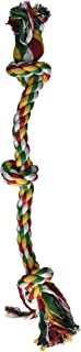 Penn-Plax 3-Knot Dog Rope Toy Cold/Ruff, Medium | Great Exercise for teeth and Gums | Hours of Playtime Fun