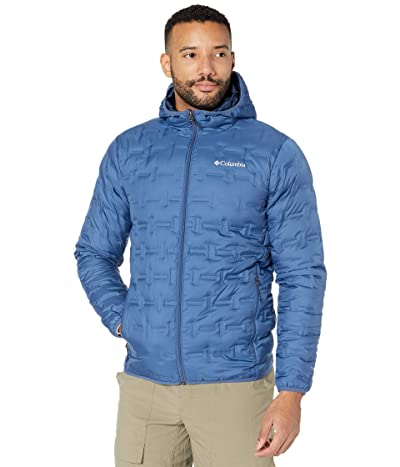 Columbia Delta Ridgetm Down Hooded Jacket (Night Tide) Men