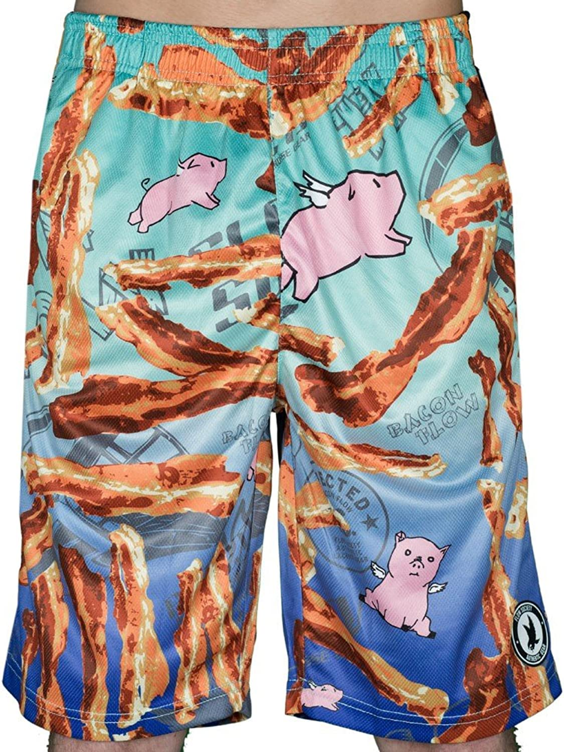 Flow Society Boys Bacon Attack Short Shorts