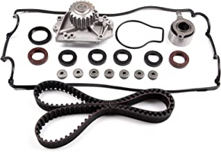 ECCPP Timing Belt Water Pump Valve Cover Gasket Kit Fit 1994-1995 ACURA INTEGRA RS 1.8L