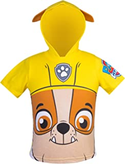PAW Patrol Hooded Shirt: Chase, Marshall, Rocky, Rubble, Zuma – Boys