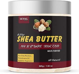 Seyal Raw Shea Butter Unrefined Organic | Skin and Body | Moisturizer | Stretch Marks - 200g