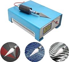 BAOSHISHAN Ultrasonic Cutting Knife Machine 19-26KHZ Laboratory Industrial Ultrasound Plastic Cutter 600W for Kevlar ABS PE PVC PC PP Acrylic (Titanium Alloy Cutting Knife)