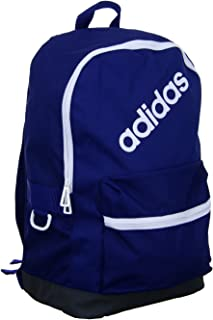 Adidas Backpack for Men - Polyester, Dark Blue/Carbon/White