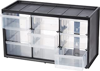 Stanley 1-93-978 Storage Box with 9 Compartments, Black