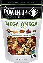 Power Up Trail Mix, Mega Omega Trail Mix, Non-GMO, Vegan, Gluten Free, No Artificial Ingredients, Gourmet Nut, 14 oz Bag, ...