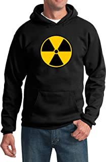 Buy Cool Shirts Radiation Hoodie Radioactive Fallout Symbol Hooded Sweatshirt